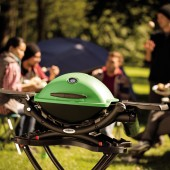 barbacoas gas weber q1200 green