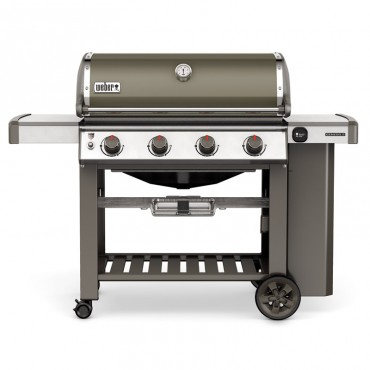 barbacoas gas weber genesis e410 smokey grey