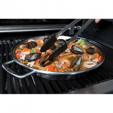 barbacoas accesorios broil king paellera acero inoxidable